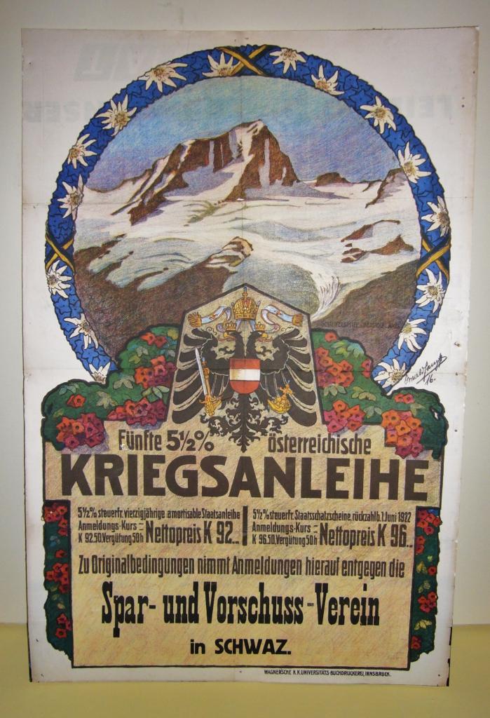 Werbeplakat für Kriegsanleihen