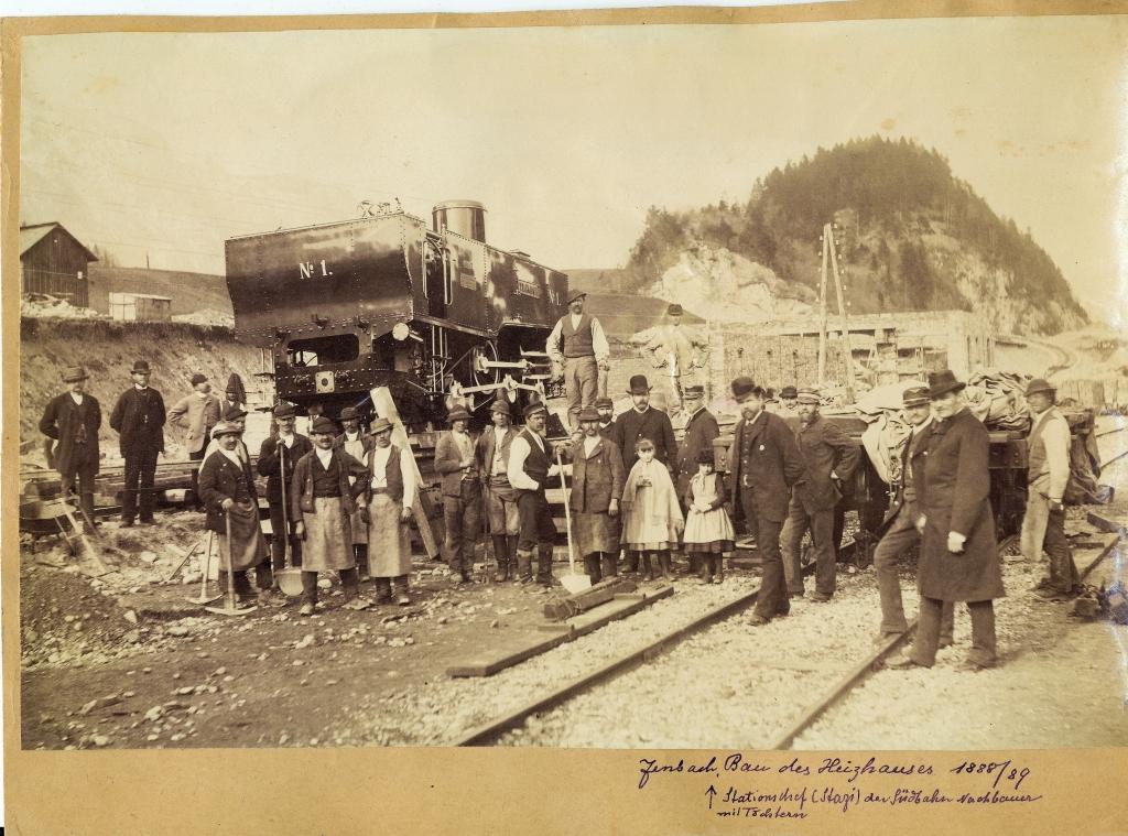 Achenseebahn 1893