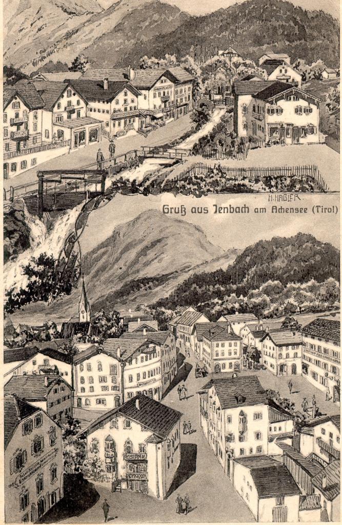 Jenbach, um 1910