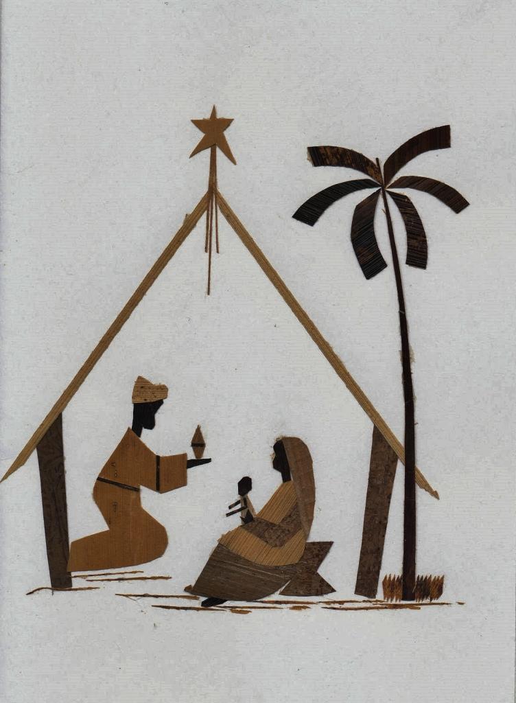 Weihnachtskrippe Kongo
