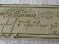 Medikamentenschachtel, 1903
