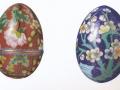 2 Cloisonne-Eier, Asien